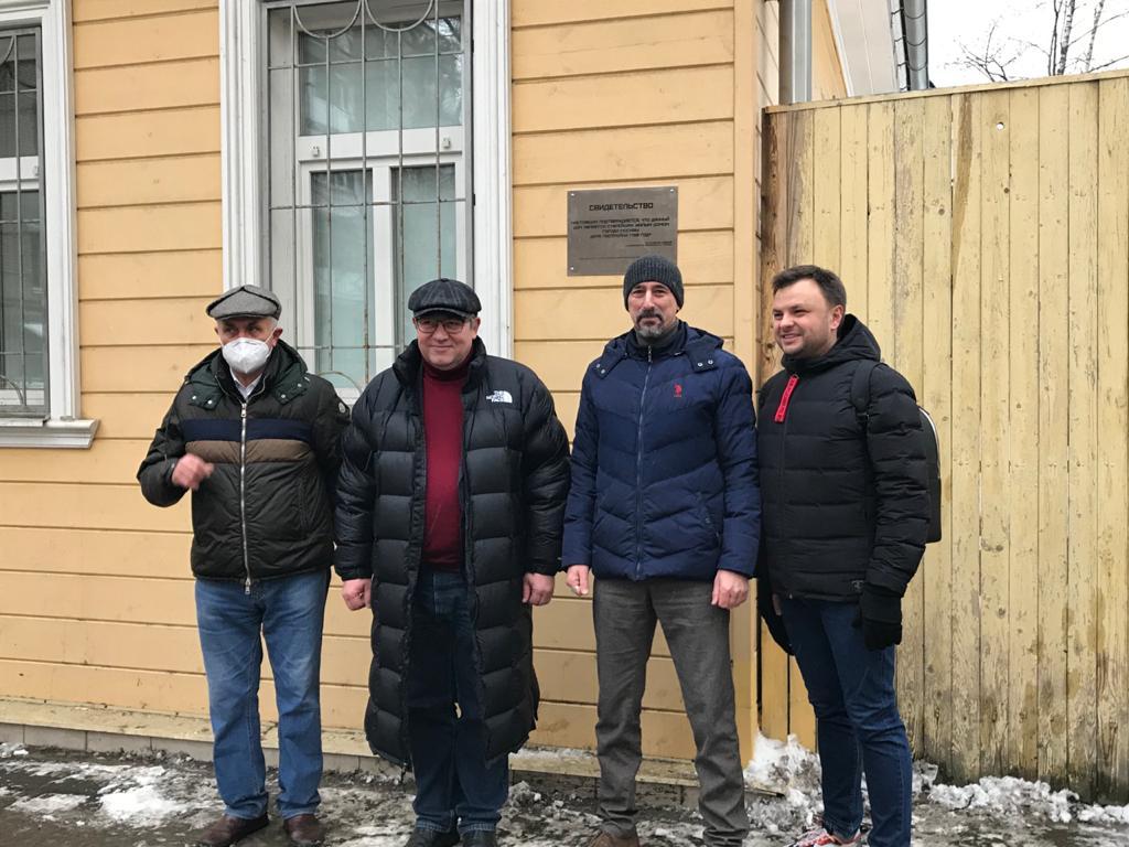 Установлена памятная табличка самому старому жилому дому города Москвы